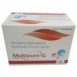 Antioxidants, Multivitamin and Mineral with Ginseng Capsule
