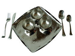 Stainless Steel Hammered Tablewares