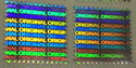 Original Hologram Labels