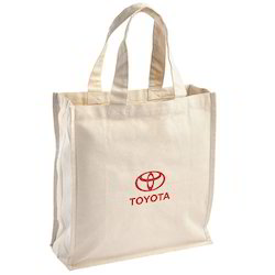 Canvas Tote Bag with Short Handle