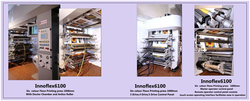 Multi Colors Roll Paper Flexo Printing Machine