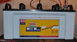 Exide 6 El Tubular Batteries