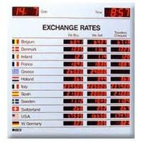 Electronic Foreign Currency and Interest Rate Board