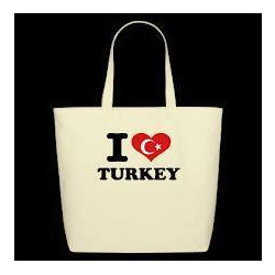 I Love America Turkey Bags