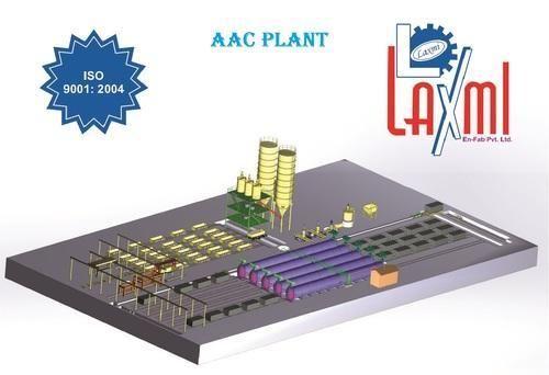 Automatic AAC Bricks Plant
