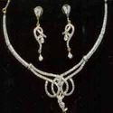 Necklace Set With Zircon
