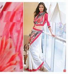 Embroidered Chanderi Silk sarees