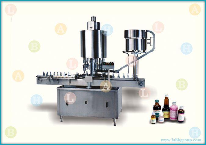 Automatic High Speed Screw Cap Sealing Equipment