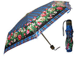 3 Fold Ladies Printed Umbrella