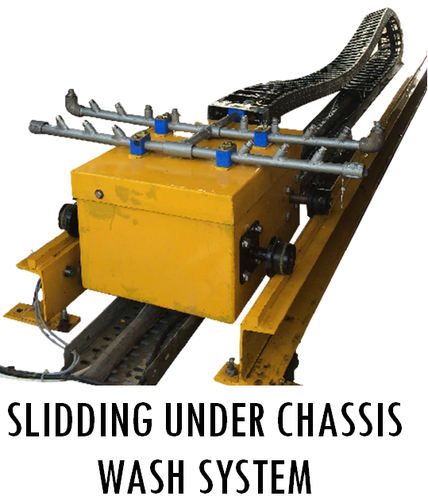 Sliding Under Chassis Wash System