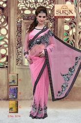 Designer Party Wear Net Sarees 5214