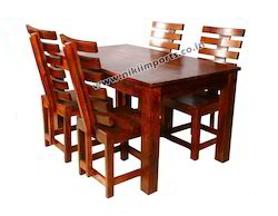 Teak Wood Heavy Dining Table