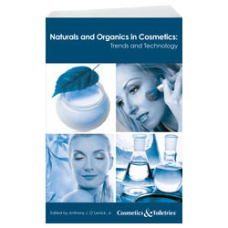 Naturals and Organics in Cosmetics Trends and Technology