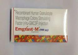 Emgrast M 500 Mcg Injection Filgrastim M 500 Mcg
