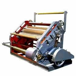 Oblique type Single Face Paper Corrugation Machines