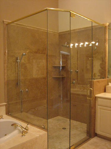 Glass Shower Fabrication Works - Glass Shower Enclosure Fabrication ...