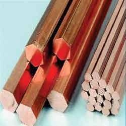 Copper Hexagonal Rods