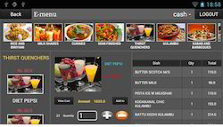 E- Menu Restaurant Management Software