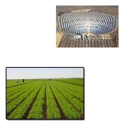 Solar Power Plant for Agriculture