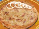 frozen onion paratha