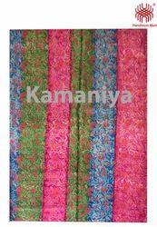 Handloom Unstiched Silk Fabric