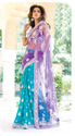 embroider party wear saree