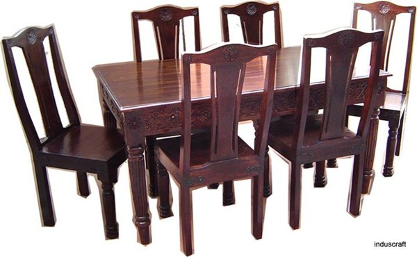 Wood Dining Table Designs India : solid wooden dining table from s3.amazonaws.com size 600 x 370 jpeg 43kB