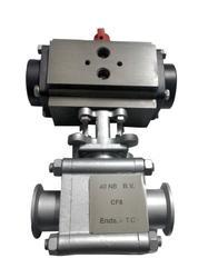 Triclover End Ball Valve