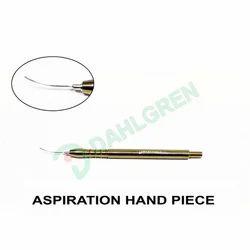 Aspiration Hand Piece
