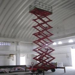 High Rise Scissor Lift Table