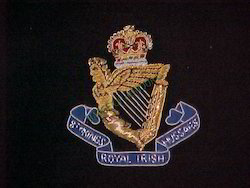 8th Kings Royal Irish Hussars Blazer Badges