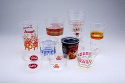 Customized Printed Glasses PP