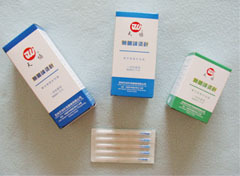 acupuncture silver needles with tube