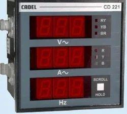 Eltrac Cd221 Volt Ampere Meter