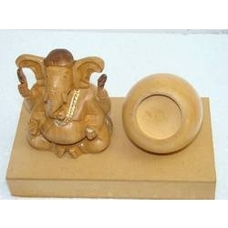 Wooden Lord Ganesha