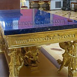 Lapis Top Dining Tables
