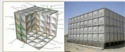 SMC Sectional  Panel Tank