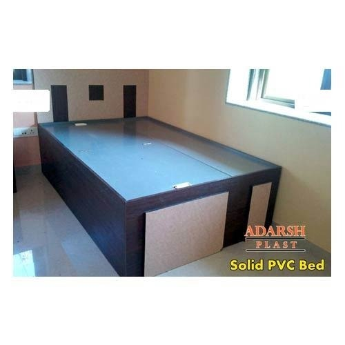 Pvc Bed: Solid PVC Bed Manufacturer From Ahmedabad