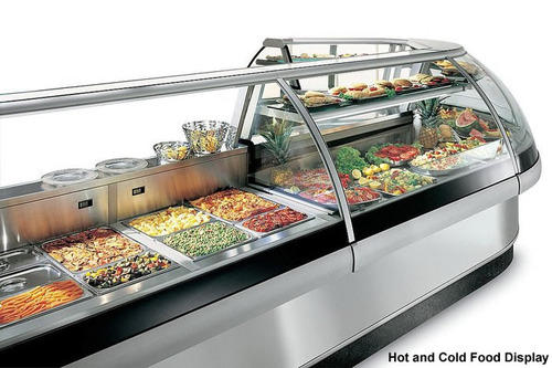 Food Display Counters Hot Cold Food Display Manufacturer From