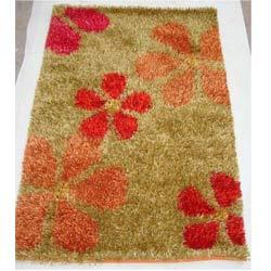 Colored Shaggy Carpets