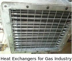 Heat Exchangers for Gas Industry
