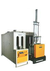 semi automatic pet blow machine