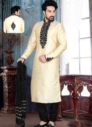 groom wear art dupion silk kurta pajama