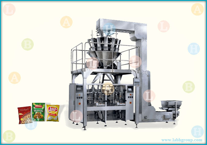 Automatic Pouch Packing Machine with 10 head Weigher