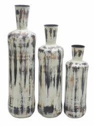 Destressed Flower Vase