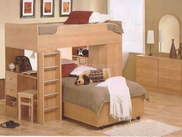 children furniture   bunk beds with study table