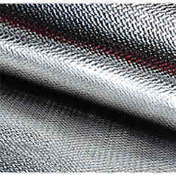 Aluminized Silica Fiberglass and Kevlar Fabrics