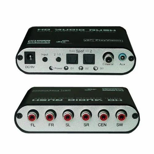 Optical To 5 1 Surround Sound Converter 5 1 Digital