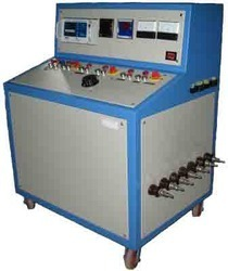 Electric motor test bench view specifications details for Electric motor test panel