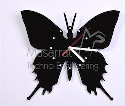 Acrylic Butterfly Clock